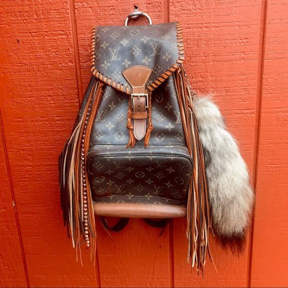 Louis Vuitton Handbags - Louis Vuitton Backpack Revamped 💎